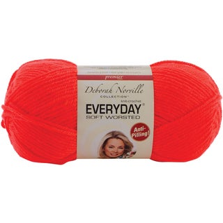 Deborah Norville Collection Everyday Solid Yarn-Flame Orange