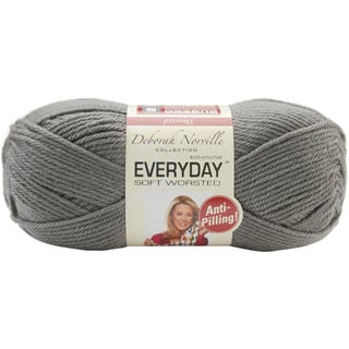 Deborah Norville Collection Everyday Solid Yarn-Steel