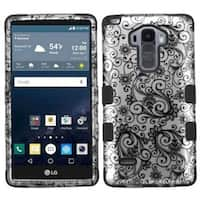 Insten Hard PC/ Silicone Dual Layer Hybrid Rubberized Matte Case Cover For LG G Stylo LS770/ G Vista 2