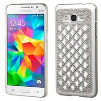 Insten Hard Snap-on Diamond Bling Case Cover For Samsung Galaxy Grand Prime