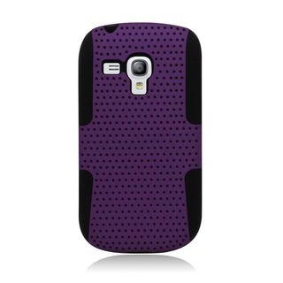 Insten Hard Snap-on Dual Layer Hybrid Case Cover For Samsung Galaxy S3 Mini GT-I8190