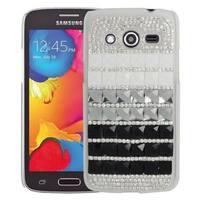 Insten Hard Snap-on Diamond Bling Case Cover For Samsung Galaxy Avant