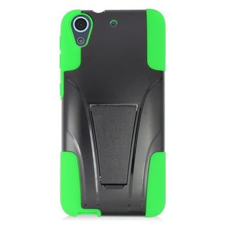 Insten Hard PC/ Silicone Dual Layer Hybrid Case Cover with Stand For HTC Desire 626