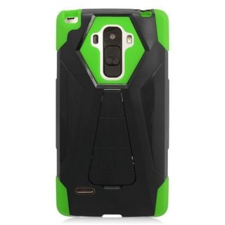 Insten Hard PC/ Silicone Dual Layer Hybrid Case Cover with Stand For LG G Stylo LS770/ G Vista 2