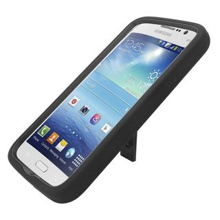 "Insten Soft Silicone/ PC Dual Layer Hybrid Rubber Case Cover with Stand For Samsung Galaxy Mega 5.8"" GT-I9150"