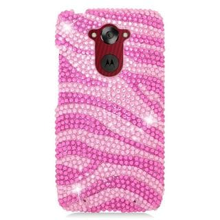Insten Hard Snap-on Diamond Bling Case Cover For Motorola Droid Turbo