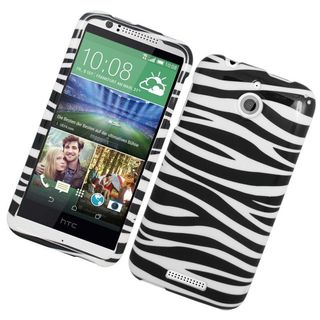 Insten Hard Snap-on Rubberized Matte Case Cover For HTC Desire 510