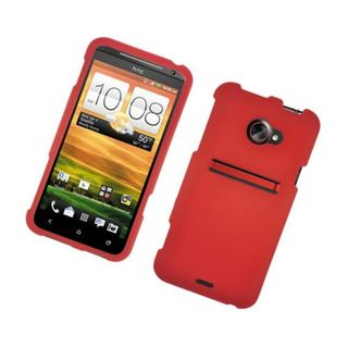 Insten Hard Snap-on Rubberized Matte Case Cover For HTC EVO 4G LTE