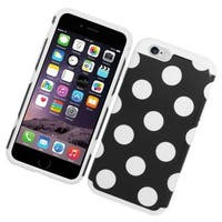 Insten Hard PC/ Silicone Dual Layer Hybrid Rubberized Matte Case Cover For Apple iPhone 6/ 6s