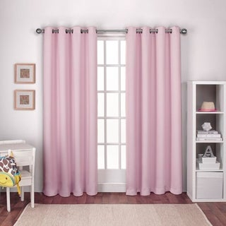 Porch & Den Boosalis Thermal Woven Blackout Curtain Panel Pair with Grommet Header