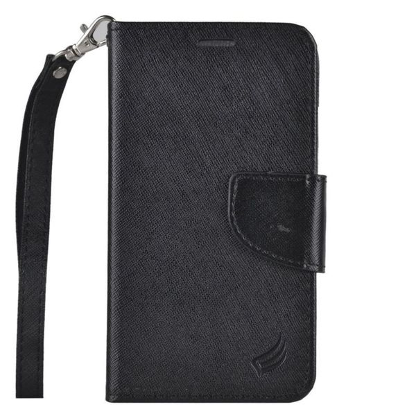Shop Insten Leather Case Cover Lanyard With Stand Wallet