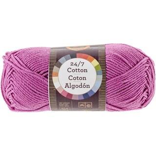 24/7 Cotton Yarn-Rose