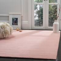 Safavieh Hand-Woven Himalaya Light Pink Wool Rug - 6' x 9'