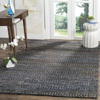 Safavieh Natural Fiber Contemporary Handmade Grey Jute Rug - 6' x 9'