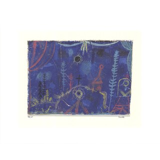 Paul Klee 'Hermitage' 2016 12.5-inch x 15.75-inch Poster