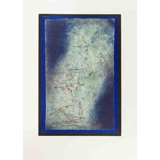 Paul Klee 'Fischbild' 31.5-inch x 22.5-inch Lithograph Poster