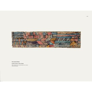 Paul Klee 'The Town' 12.5-inch x 16.5 inch Poster