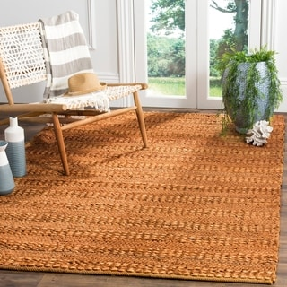 Safavieh Natural Fiber Contemporary Handmade Gold Jute Rug (9' x 12')