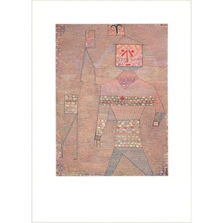 Paul Klee 'General in Charge of the Barbarians' 32.5-inch x 23.5-inch Poster