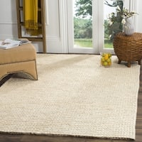 Safavieh Natural Fiber Contemporary Handmade Ivory Sisal Rug - 6' Square