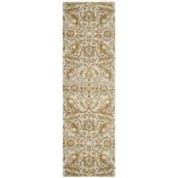 Safavieh Evoke Vintage Ivory / Gold Distressed Runner (2' 2 x 7')