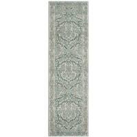 Safavieh Evoke Vintage Oriental Ivory / Light Blue Distressed Runner (2' 2 x 13')