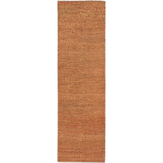 ecarpetgallery Hand-Knotted Persian Gabbeh Brown  Wool Rug (2'9 x 9'1)
