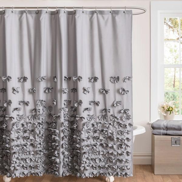 Lush Decor Juliet Shower Curtain