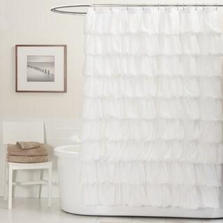 Lush Decor Ripple Shower Curtain