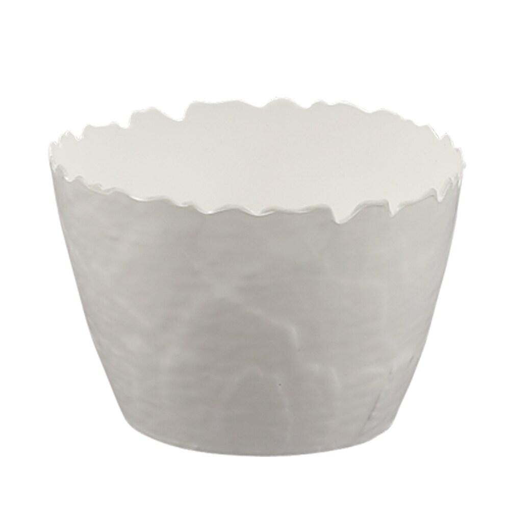 Best Selling Encore Concepts Botanical Round Galax Leaf Melamine Cereal Bowl Set Set Of 4 Melamine In Red White Cream Wayfair 20250 Accuweather Shop