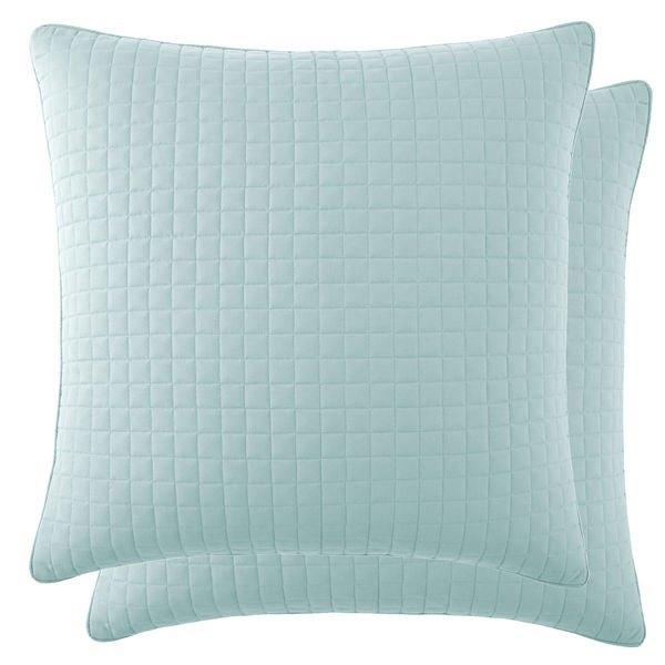 Southshore Fine Linens Vilano Springs Quilted Euro Shams Covers ... : quilted covers - Adamdwight.com