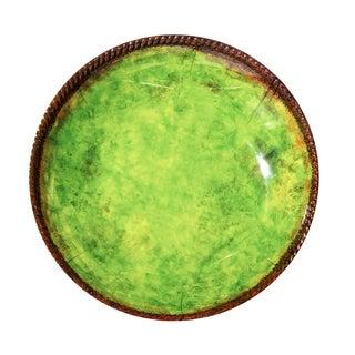 Melamine Italica Shallow Bowl, 17 inch-Green