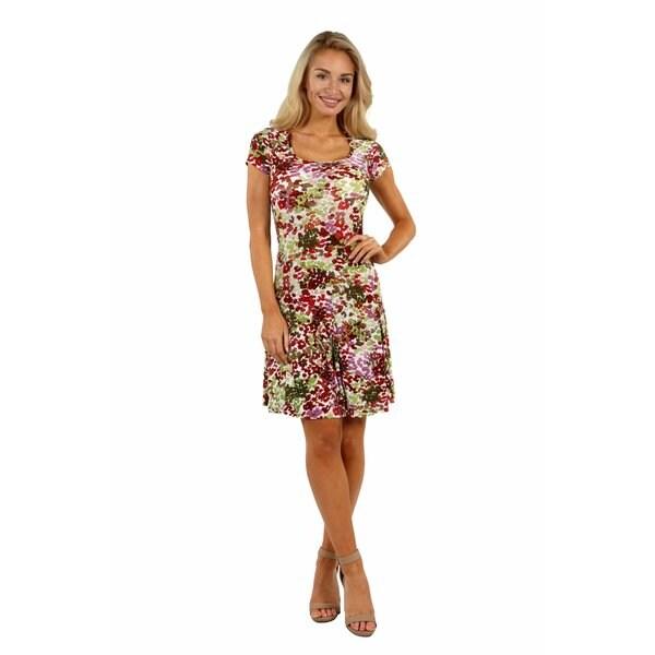 24/7 Comfort Apparel Bella Sera Dress
