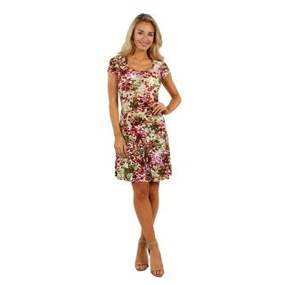 24/7 Comfort Apparel Bella Sera Dress