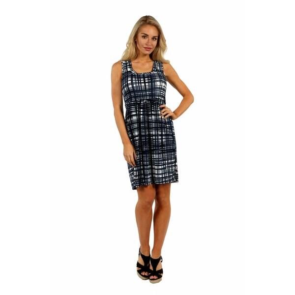 24/7 Comfort Apparel Contemporary Classic Dress