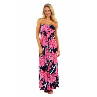 24/7 Comfort Apparel Maui Dreams Dress