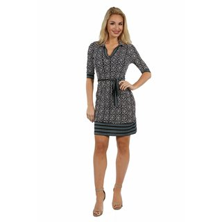 24/7 Comfort Apparel Working Lunch Dress