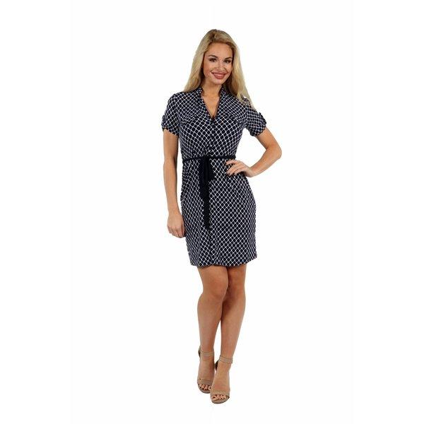 24/7 Comfort Apparel Roving Reporter Dress