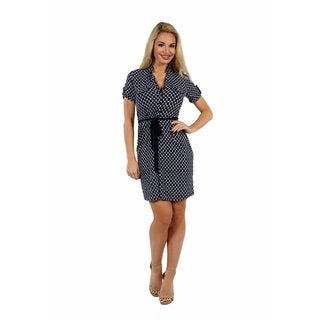 24/7 Comfort Apparel Roving Reporter Dress