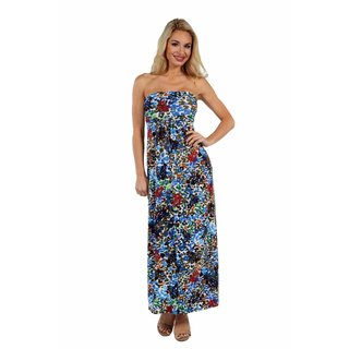 24/7 Comfort Apparel Dappled Florals Dress