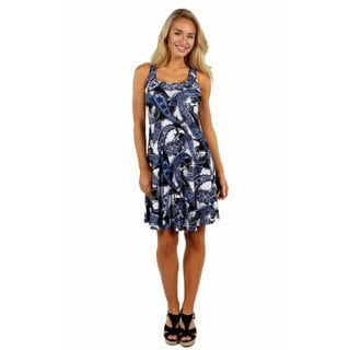24/7 Comfort Apparel Flirty Friday Dress