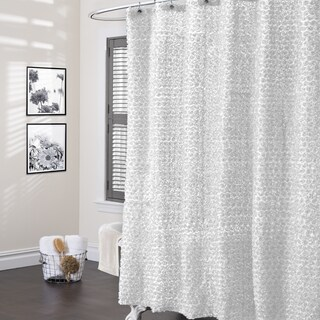 Lush Decor Rosely Shower Curtain (2 options available)