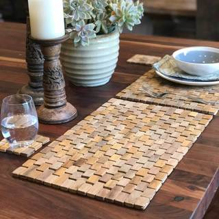 Teak Placemats IPM002 (set of 2)