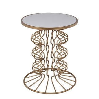 Privilege Stone Top Accent Table