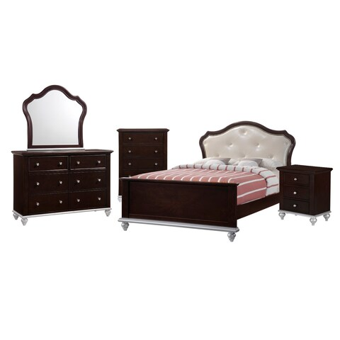 Picket House Furnishings Alli Full Platform 5PC Bedroom Set w/ Storage Trundle