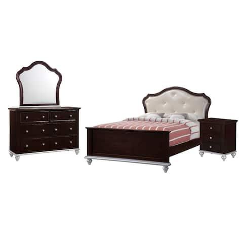 Picket House Furnishings Alli Full Platform 4PC Bedroom Set