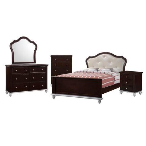 Picket House Furnishings Alli Full Platform 5PC Bedroom Set