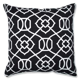 Pillow Perfect Outdoor/ Indoor Kirkland Black 25-inch Floor Pillow