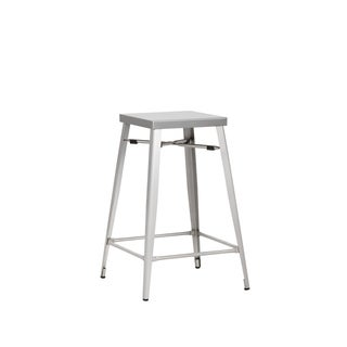 "Aaron 26"" Counter Stool Stainless Steel"