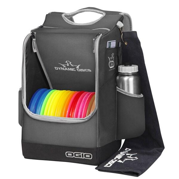 Dynamic Discs Sniper Dark Grey Backpack Disc Golf Bag